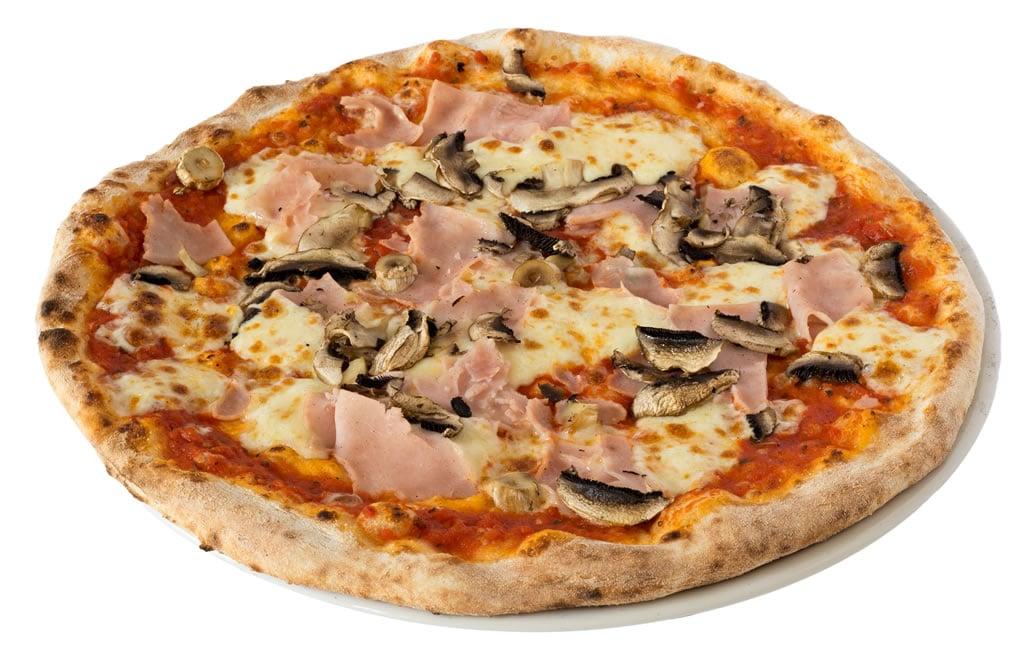 Pizza prosciutto e funghi Cluj